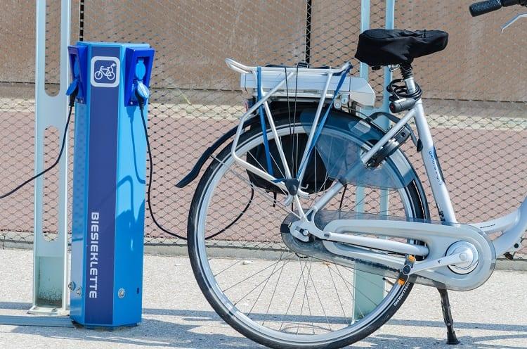 Charging E Bike