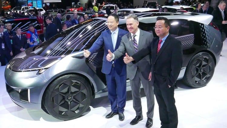 Presenting E Car